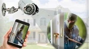 phone video security system