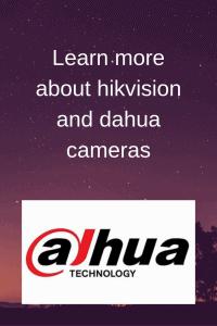 dahua cameras