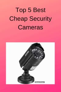 cheap security camera