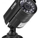 ZOSI 720P HD 1280TVL Hybrid 4-in-1