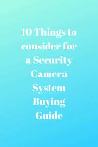10 Things to consider for a Security
