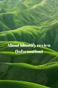 About Idnotify review (Information)