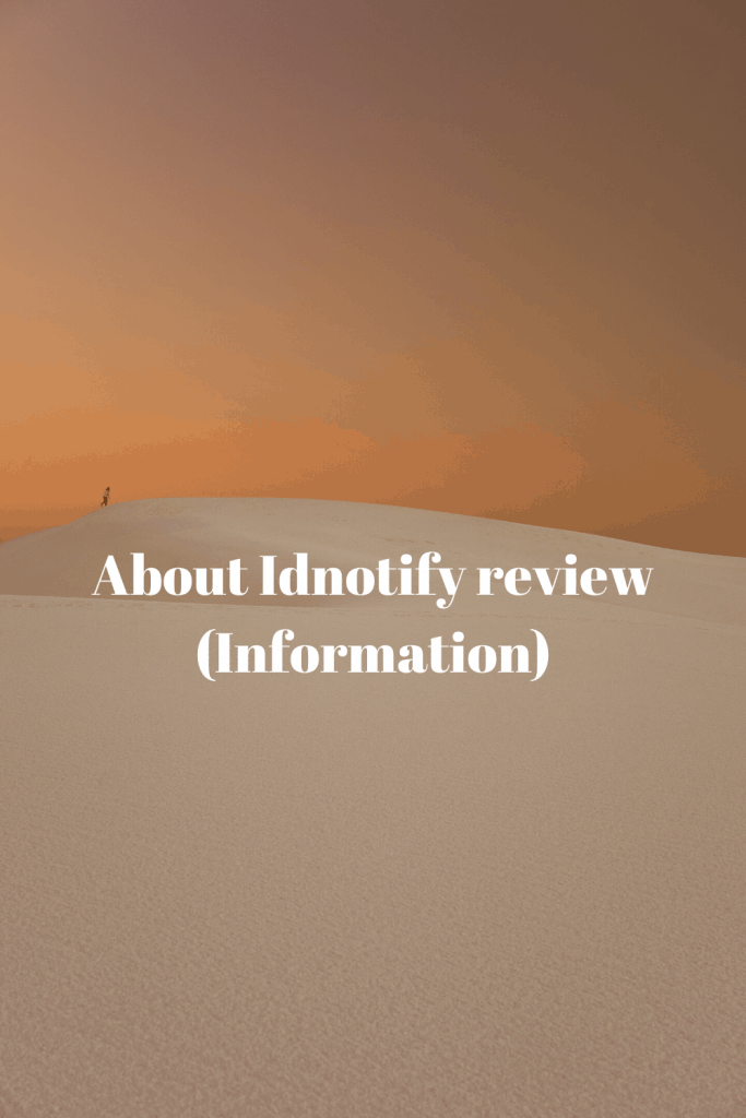 About Idnotify review