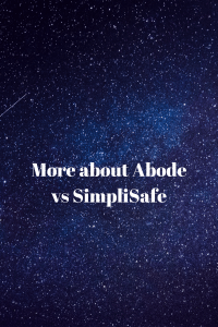 More about Abode vs SimpliSafe